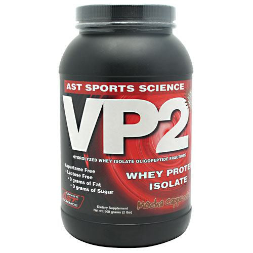 AST Sports Science VP2 Whey Protein Isolate - Mocha Cappuccino - 2 lb - 705077002901