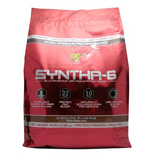 BSN Syntha-6 - Chocolate Milkshake - 10 lb - 834266008209