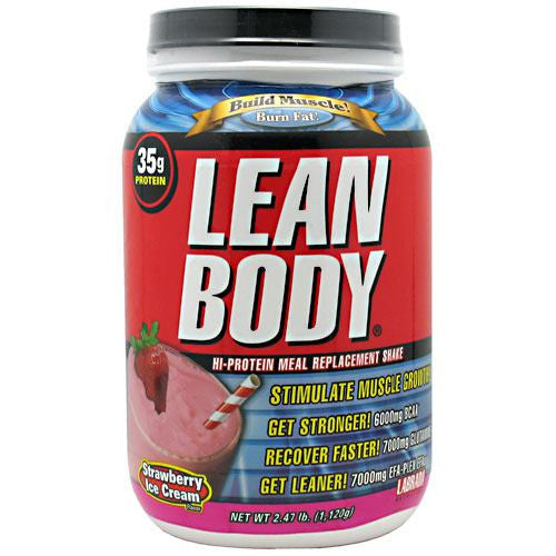Labrada Nutrition Lean Body - Strawberry Ice Cream - 2.47 lb - 710779112759