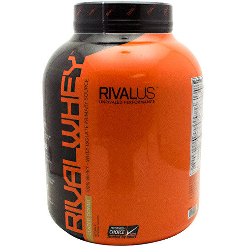 Rivalus Rival Whey - Glazed Donut - 5 lbs - 807156002601