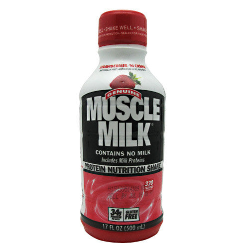 CytoSport Muscle Milk RTD - Strawberries N Creme - 17 fl oz - 876063000246