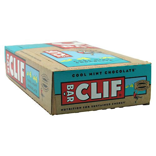 Clif Bar Energy Bar - Cool Mint Chocolate - 12 Bars - 722252302007