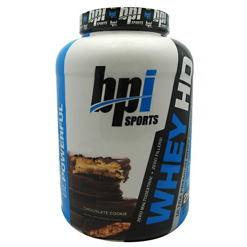 BPI Whey-HD - Chocolate Cookie - 57 Servings - 811213021504