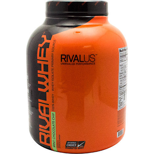Rivalus Rival Whey - Mint Chocolate Chip - 5 lbs - 807156002588