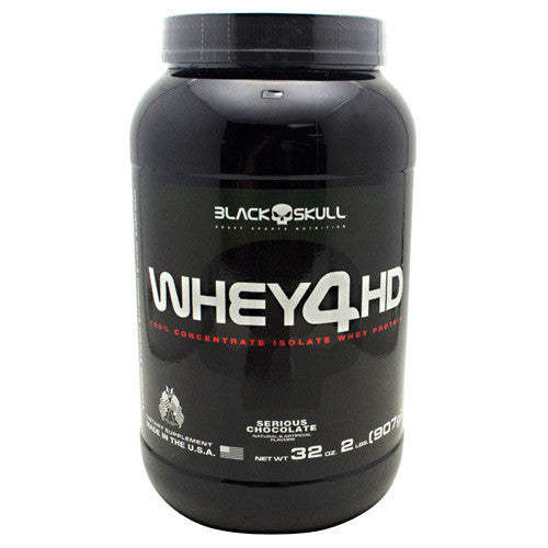 Black Skull Black Skull Whey4HD - Serious Chocolate - 2 lbs - 857044005016