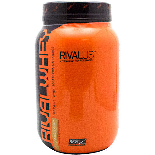 Rivalus Rival Whey - Glazed Donut -  lbs - 807156002595