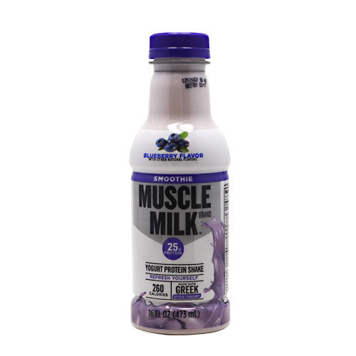CytoSport Muscle Milk Smoothie - Blueberry - 12 Bottles - 00876063006279