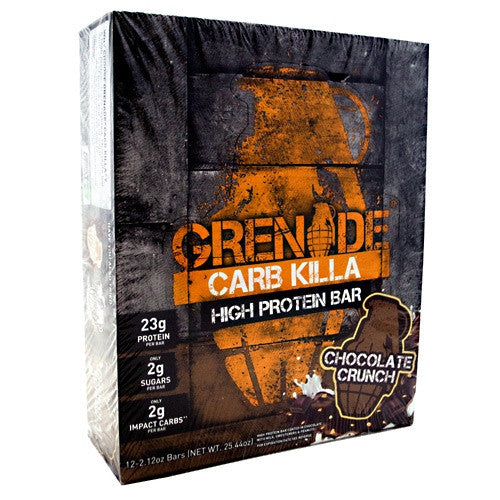 Grenade Carb Killa - Chocolate Crunch - 12 Bars - 847534001314