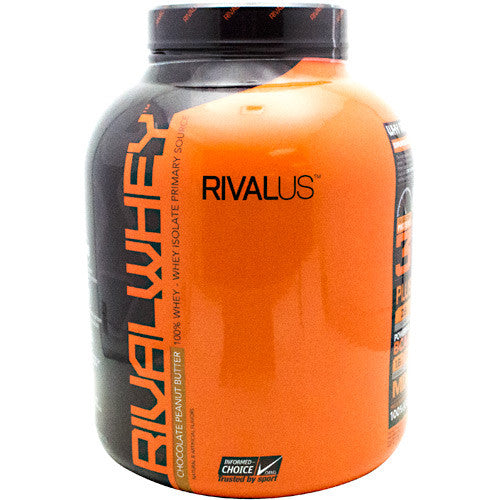Rivalus Rival Whey - Chocolate Peanut Butter - 5 lbs - 807156001932