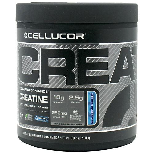 Cellucor COR-Performance Series Creatine - Blue Raspberry - 30 Servings - 632964304117