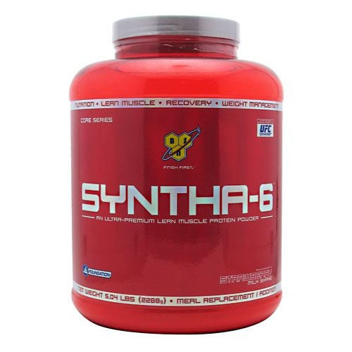 BSN Syntha-6 - Strawberry Milkshake - 5.04 lb - 834266007158