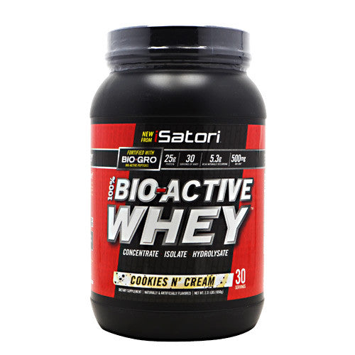 iSatori Bio-Active Whey - Cookies & Cream - 2.31 lb - 883488004797
