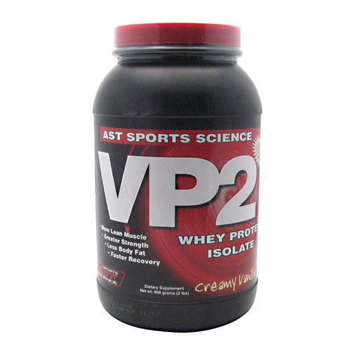 AST Sports Science VP2 Whey Protein Isolate - Creamy Vanilla - 2 lb - 705077002826