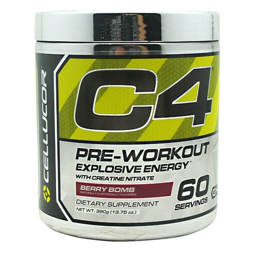 Cellucor Chrome Series C4 - Berry Bomb - 60 Servings - 810390024698