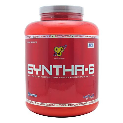 BSN Syntha-6 - Vanilla Ice Cream - 5.04 lb - 834266007103