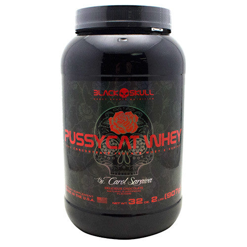 Black Skull Black Skull Pussycat Whey - Delicious Chocolate - 2 lb - 857044005405