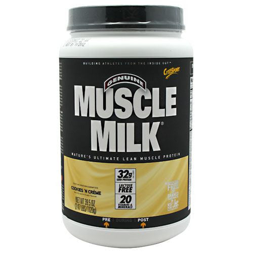 CytoSport Muscle Milk - Cookies N Creme - 2.47 lb - 660726504208