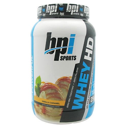 BPI Whey-HD - Vanilla Caramel - 25 Servings - 811213021436