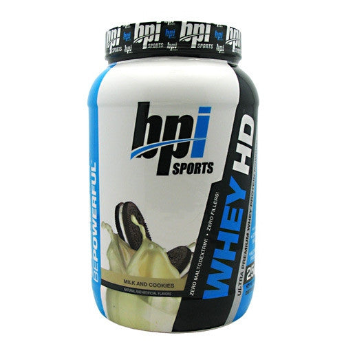 BPI Whey-HD - Milk and Cookies - 25 Servings - 811213021450