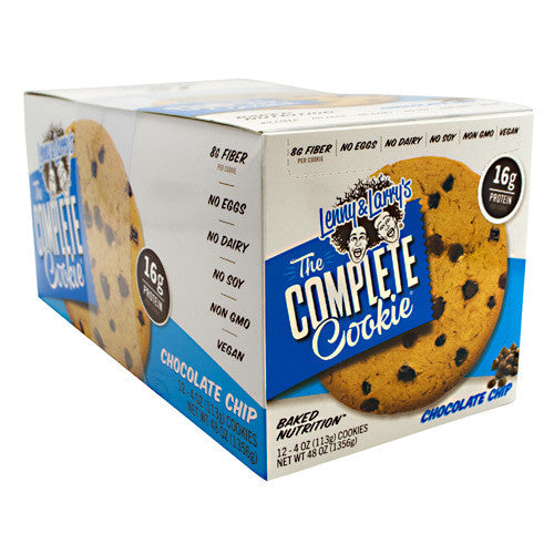 Lenny & Larrys All-Natural Complete Cookie - Chocolate Chip - 12 ea - 787692835546