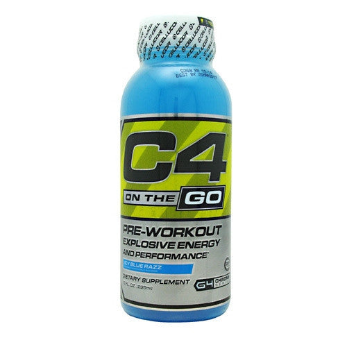 Cellucor C4 RTD - Icy Blue Razz - 12 Bottles - 810390026517