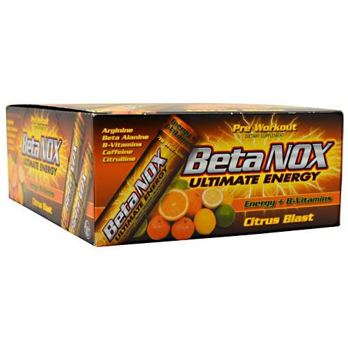 New Whey Nutrition Beta Nox - Citrus Blast - 12 ea - 675941002019