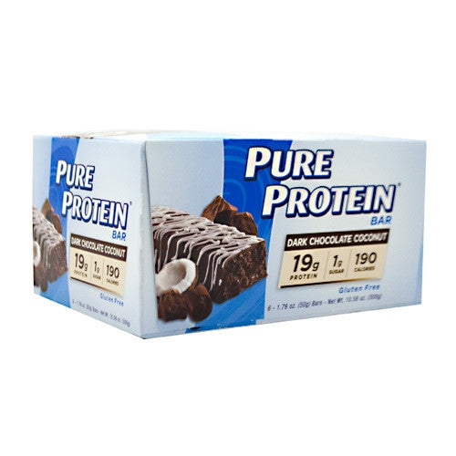 Pure Protein Pure Protein Bar - Dark Chocolate Coconut - 6 Bars - 749826548272