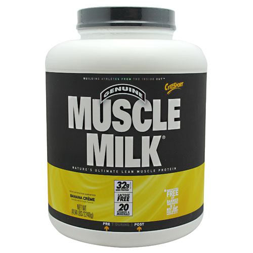 CytoSport Muscle Milk - Banana Creme - 4.94 lb - 660726503461