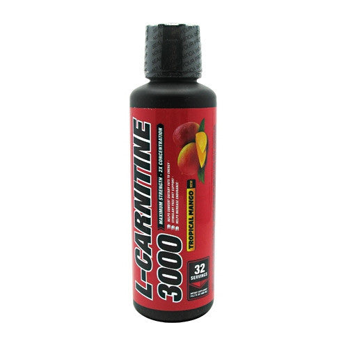 1 UP Nutrition L-Carnitine 3000 - Tropical Mango - 16.2 fl oz - 083832041816