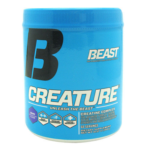 Beast Sports Nutrition Creature - Grape - 60 Servings - 631312801513