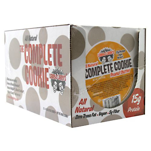 Lenny & Larrys All-Natural Complete Cookie - Peanut Butter - 12 ea - 787692835553