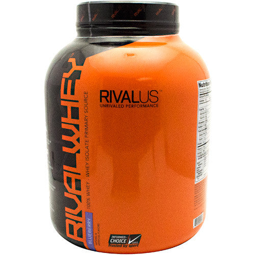 Rivalus Rival Whey - Blueberry - 5 lbs - 807156002564