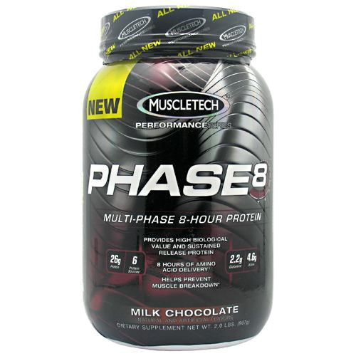 MuscleTech Performance Series Phase 8 - Milk Chocolate - 2 lb - 631656703467