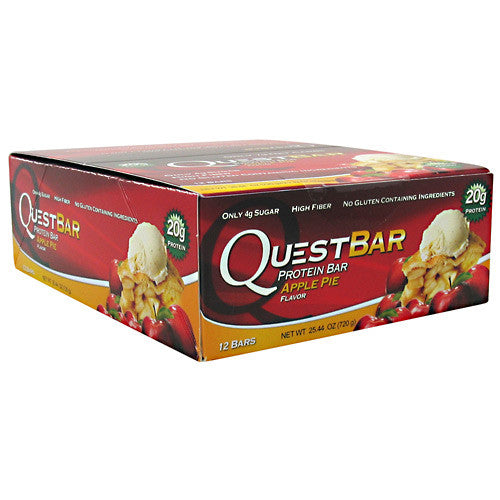 Quest Nutrition Quest Protein Bar - Apple Pie - 12 Bars - 888849000647