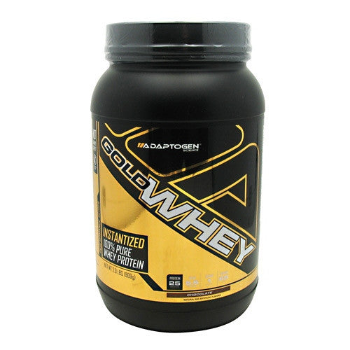 Adaptogen Science Gold Whey - Strawberry - 2 lb - 019962538230
