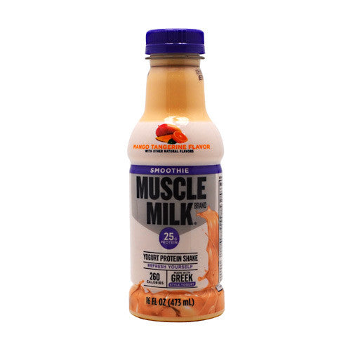 CytoSport Muscle Milk Smoothie - Mango Tangerine - 12 Bottles - 00876063006262