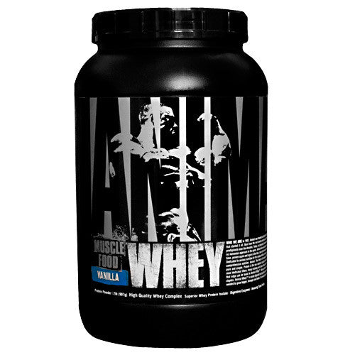 Animal by Universal Animal Whey - Vanilla - 2 lb - 039442031150