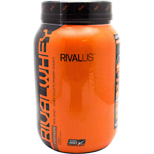 Rivalus Rival Whey - Chocolate - 2 lbs - 807156001826