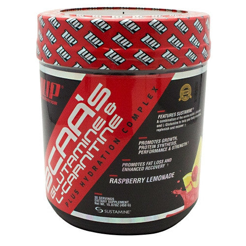 1 UP Nutrition 1 UP Nutrition BCAAs Glutamine & L-Carnitine - Raspberry Lemonade - 15.87 oz - 019962550812