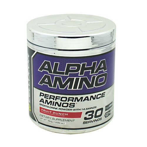 Cellucor Alpha Amino - Fruit Punch - 30 Servings - 810390024094
