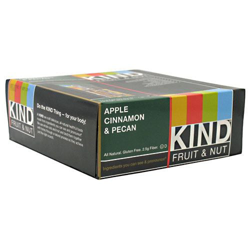 Kind Snacks Kind Fruit & Nut - Apple Cinnamon & Pecan - 12 Bars - 602652171178