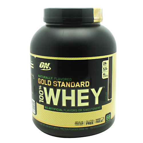 Optimum Nutrition Gold Standard Natural 100% Whey - Chocolate - 4.8 lb - 748927052688