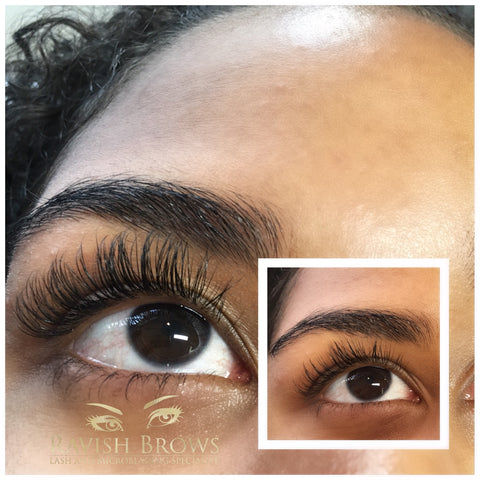 7df6450b7d7 The Ravish Real Mink Fur is the most natural look you can achieve with eyelash  extensions. Mink eyelash extensions are naturally soft and smaller in ...