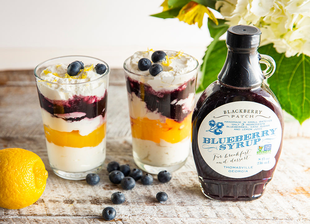 Blueberry Lemon Parfait