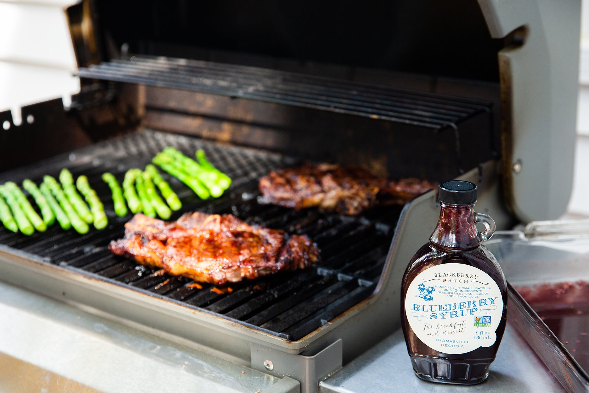 Blueberry Sweet Heat Marinade