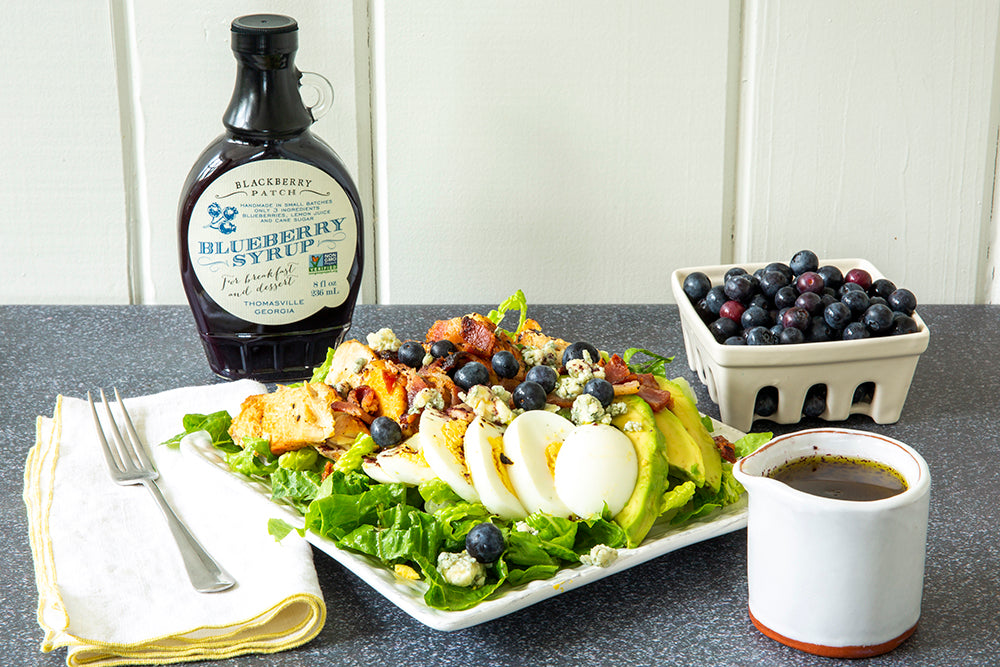 Recipe photo of Blueberry Vinaigrette using Blackberry Patch Premium Blueberry Syrup