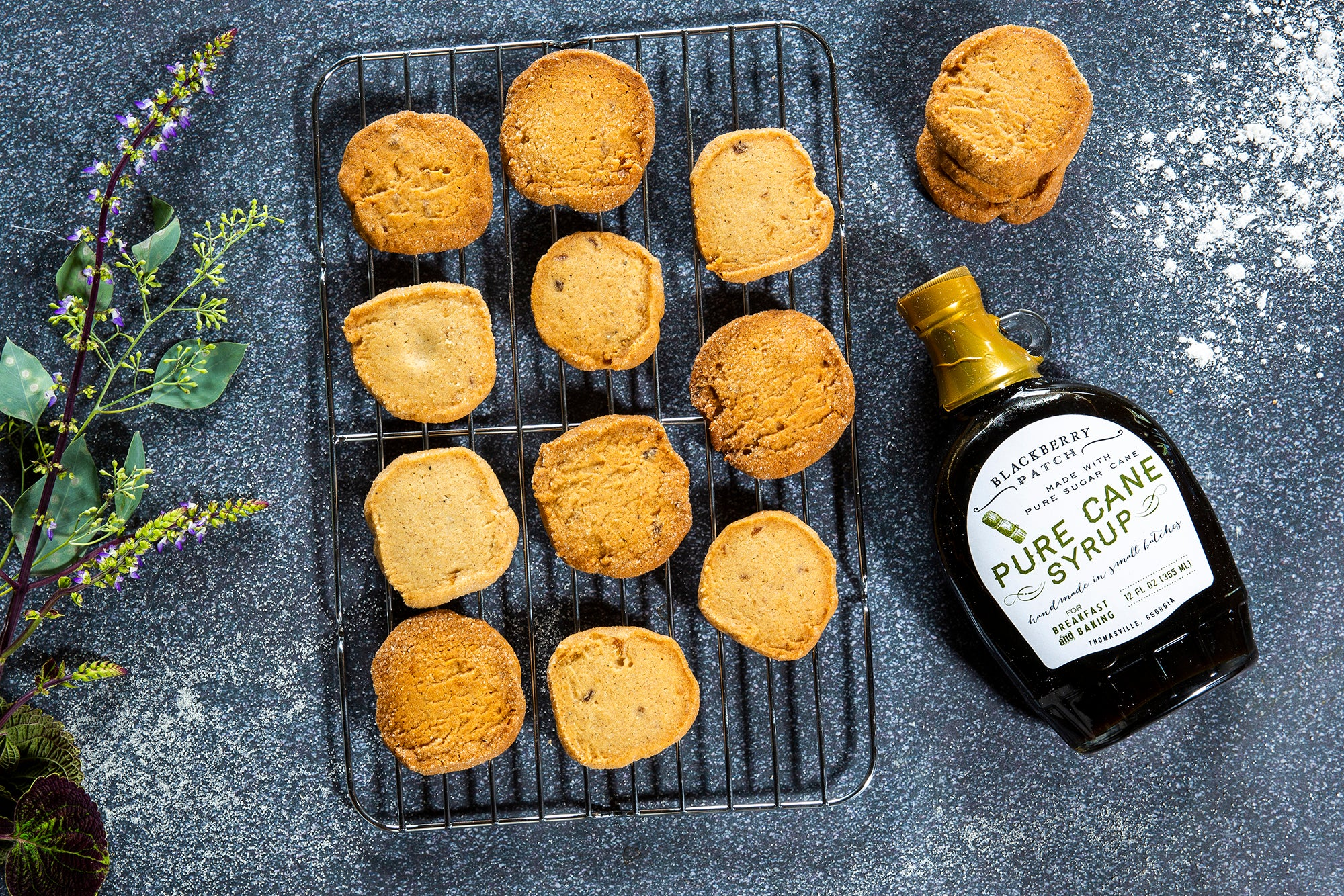 Recipe photo of Cane Ginger Cookies using Blackberry Patch Pure Cane Syrup