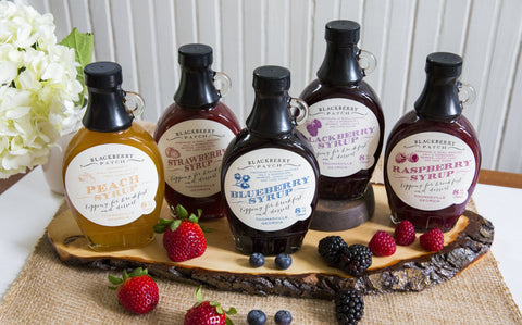 Blackberry Patch Wholesale Syrups