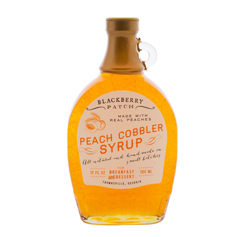 Peach Cobbler Classic Syrup