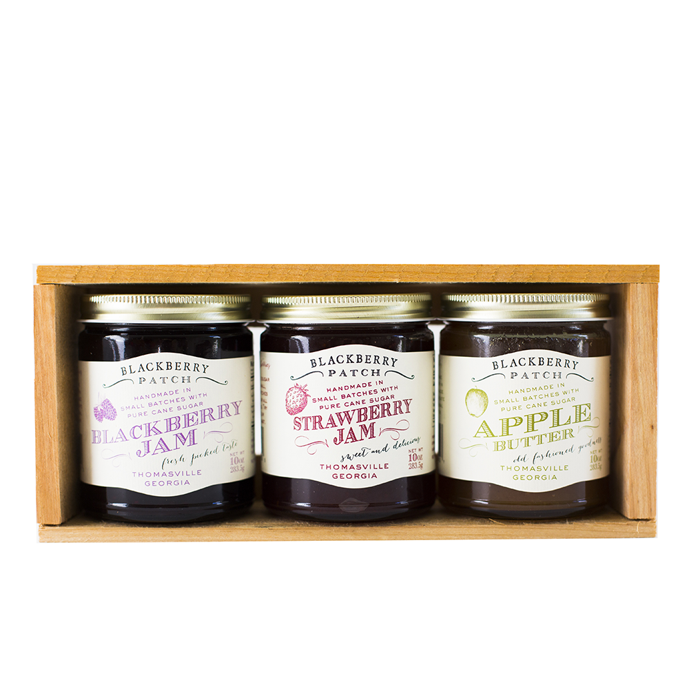 Jam and Jelly Gift Crate